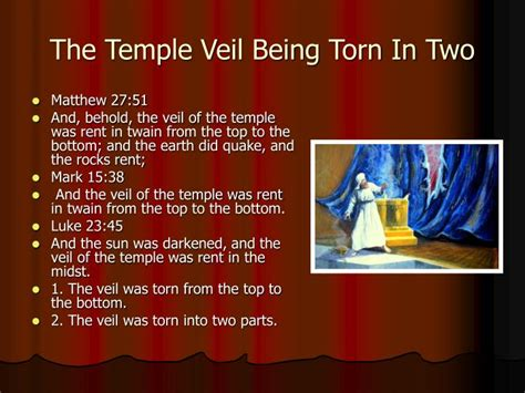 temple curtain torn in two ppt the torn veil of the temple powerpoint presentation