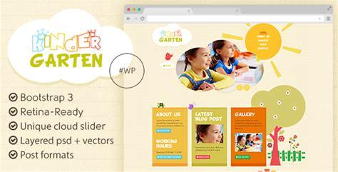 wordpress themes kindergarten free kindergarten wordpress theme themeforest
