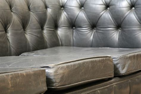Gray Leather Chesterfield Sofa Gray Leather Chesterfield Sofa Grey Leather Chesterfield Sofa Home And Textiles Thesofa