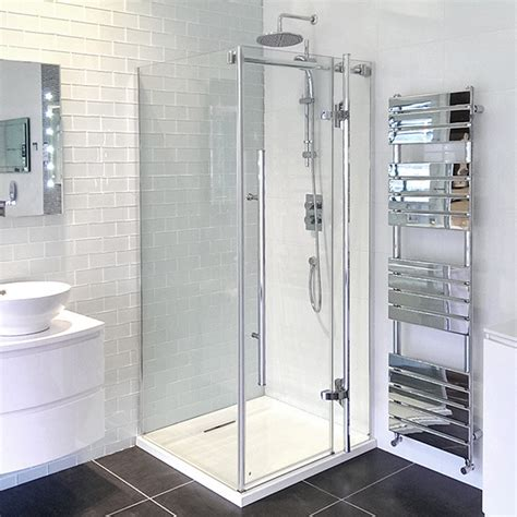 1000 X 1000 Hinged Shower Enclosure Hinged Door Shower Enclosures