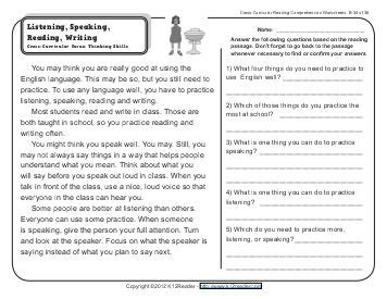7th Grade Reading Comprehension Worksheets by Reading Comprehension Worksheets 2nd Grade Pdf Worksheets