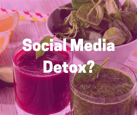 Social Media Detox Week by What I Learned From A Social Media Detox