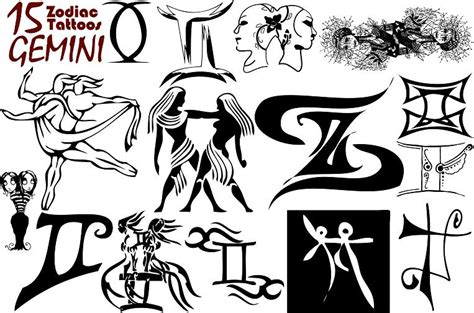 best gemini tattoo designs different gemini designs for tattooshunt