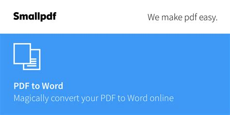 convert pdf to word online small pdf word at searchando com
