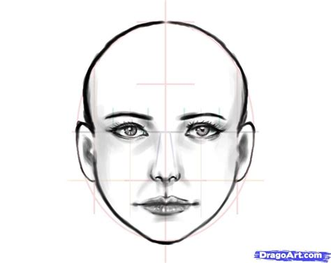 Drawing Human by How To Draw A Human Step By Step Faces