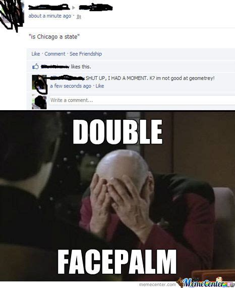 photo collection double facepalm meme by