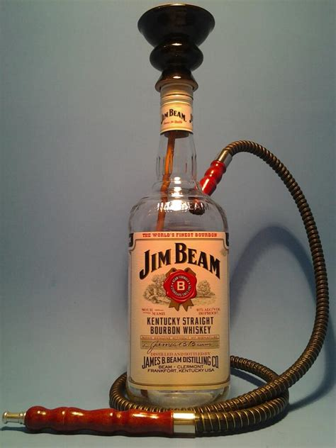 Botol Jim Beam jim beam hookah black w 1 hose liquor bottle desk ls hookah pipes highball