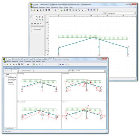 pc gestell pc frame constructieberekening