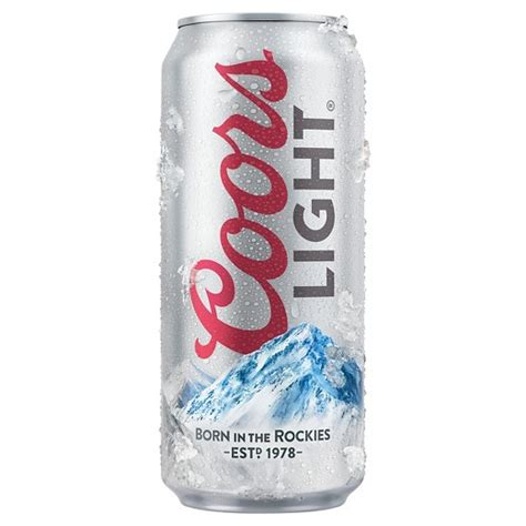coors light by volume coors light 174 16oz can target