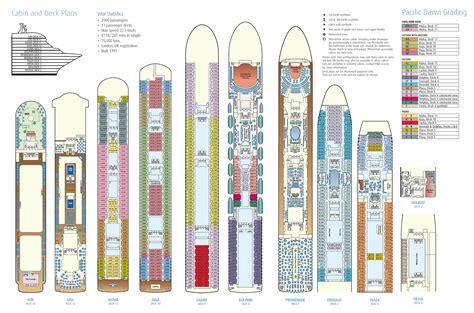 Oasis Of The Seas Floor Plan by Pacific Dawn Deck Plan