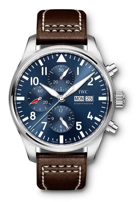 Iwc Scaffhausen iwc pilot s chronograph edition le petit prince