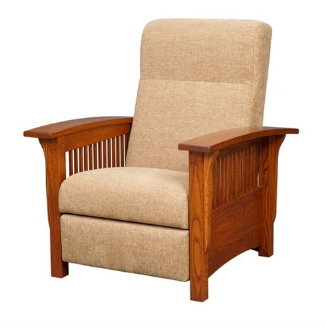 mission reclining chair mission chair amish mission recliner country lane