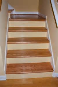 Diy Stairs Remodel by Diy Red Oak Staircase Remodel Traditional Staircase
