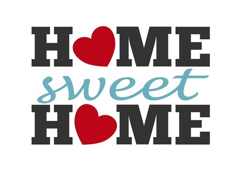 home sweet home clipart the cliparts