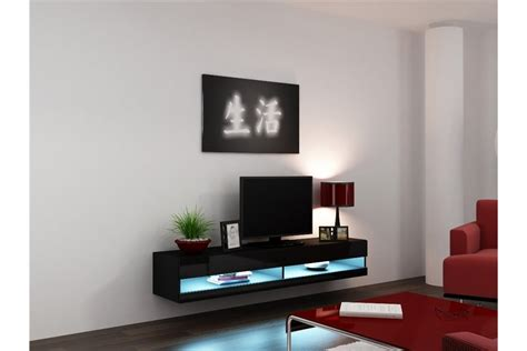 Wall Mounted Tv Cabinet Design Ideas by Meuble Tv Design Suspendu Larmo New Chloe Design