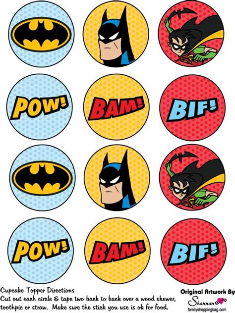 printable marvel stickers toppers o etiquetas para imprimir gratis de batman