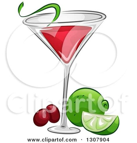 cosmopolitan clipart clipart of a cosmopolitan cocktail with lime and