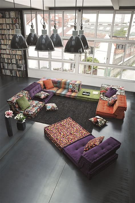 divani roche bobois divano componibile in tessuto mah jong missoni home by