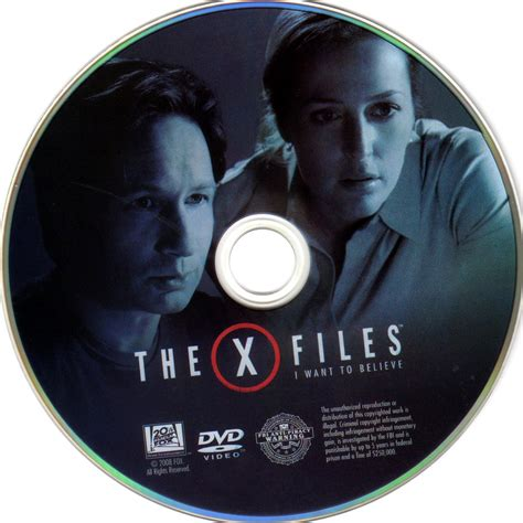 Vcd Original The X Files And I Want To Believe the x files i want to believe scanned dvd labels the x files cd edited dvd covers