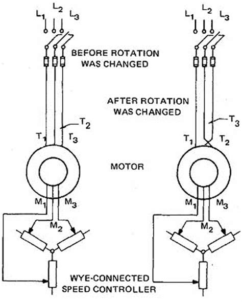 transistor td718 induction motor direction of rotation 28 images electrical maintenance industrial wiki