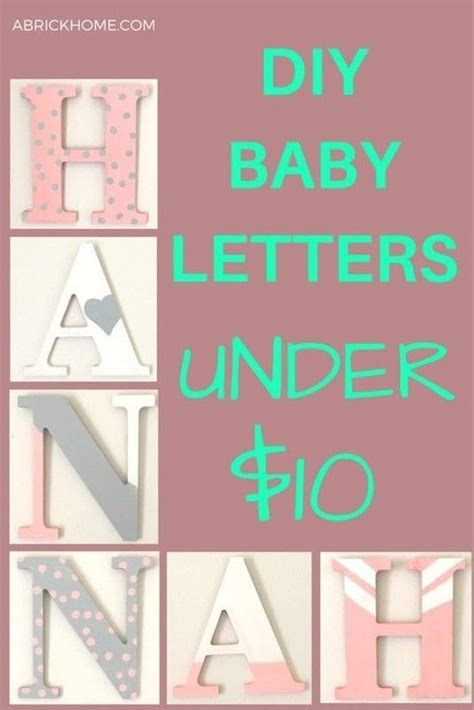 Pottery Barn Letters