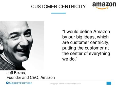 amazon vision 50 quotes from leaders on customer centricity