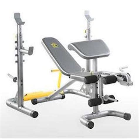 gold s gym xrs 20 olympic weight bench lifting equipment