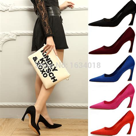 Slip On Hells Korea B29 korean style strange high heels s shoes abnormal
