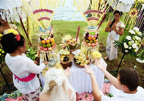 Wedding Blessing Holidays by Traditional Balinese Wedding Blessing Ceremony Top