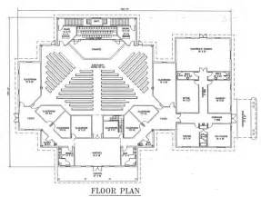 Floor Plans For Churches by Church Floor Plans