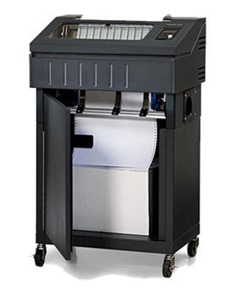 Printronix Line Matrix Printer P8205 Cabinet printronix p8000 zero tear line printer