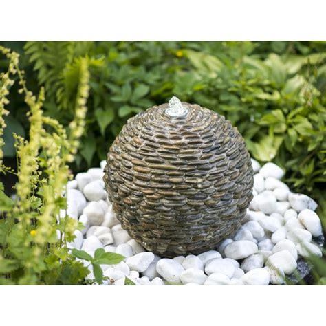 fontaine de jardin trente ubbink 1308326 boule en