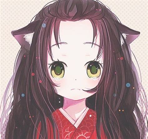 neko anime girl characters anime art anime neko cat girl cat ears big