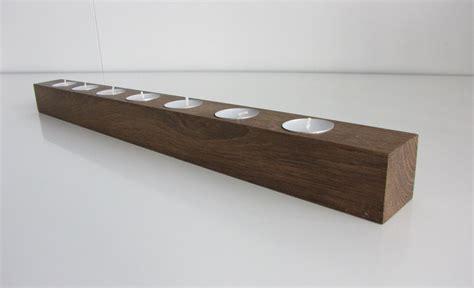 kerzenhalter nordisch design kerzenst 228 nder aus eichenholz brennholz