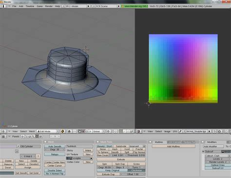Blender Second second templates for blender scultpies f 252 r