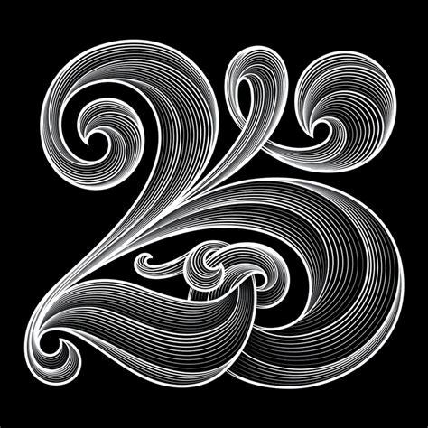 The 25 Years agideas 25 year anniversary luke lucas typographer