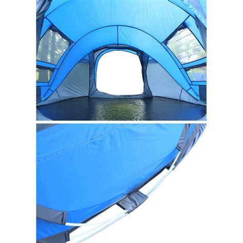 tenda cing windproof waterproof blue jakartanotebook
