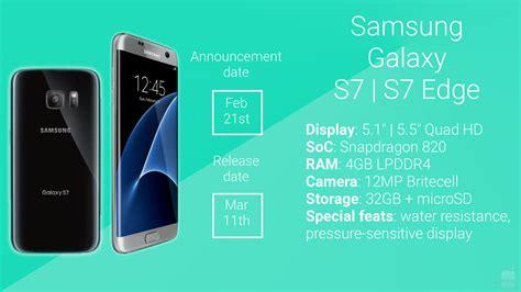 Pdf Samsung Galaxy S7 Edge Specs samsung galaxy s7 and s7 edge rumor review specs
