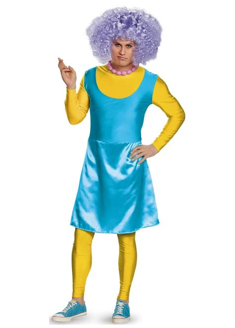 selma bouvier simpsons men costume tv show costumes