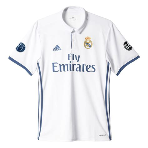 Official Real Madrid Home 1617 adidas real madrid 16 17 home jersey youth
