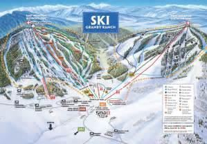 colorado ski maps ski granby ranch skiing snowboarding colorado vacation