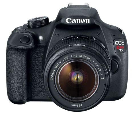 Kamera Canon T5 c 225 mara canon eos t5 lente 18 55 profesional negra alkosto