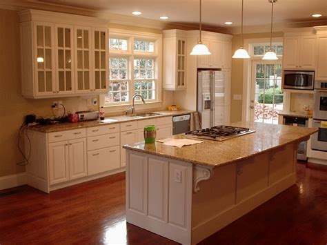 Kitchen Cabinet Renovation Ideas White Kitchen Remodeling Ideas Decobizz