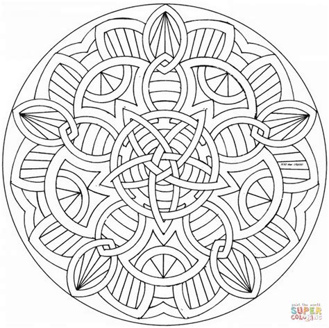 celtic mandala coloring pages celtic mandalas to color www imgkid the image kid