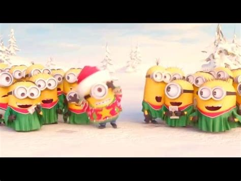 minions holiday greeting minions merry christmas youtube