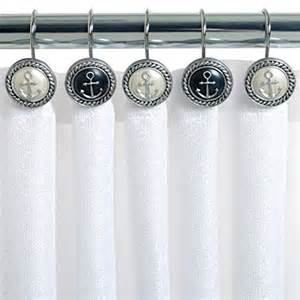 zenna home india ink cottage shower curtain hooks