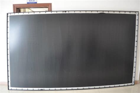 diy projection screen frame projector projection screen 150 inch curved fixed 16 9