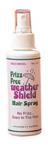 gold medal hair products company goldmedalhair com frizz free weather shield 4 ounce spray