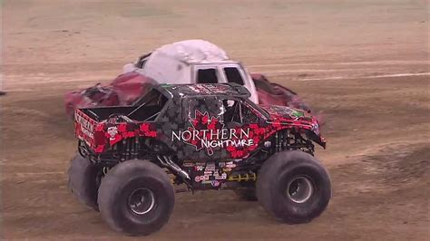 monster truck freestyle videos monster jam northern nightmare monster truck freestyle