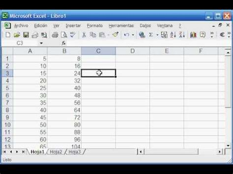 tutorial en excel 2007 tutorial de excel basico youtube